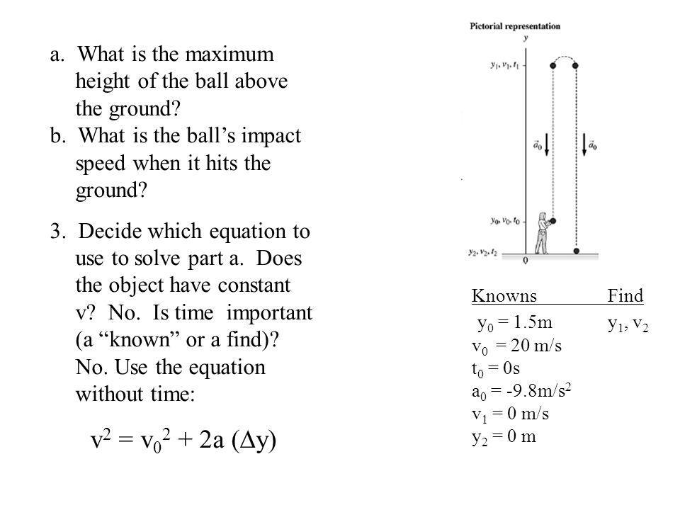 a. What is the maximum height of the ball above the ground