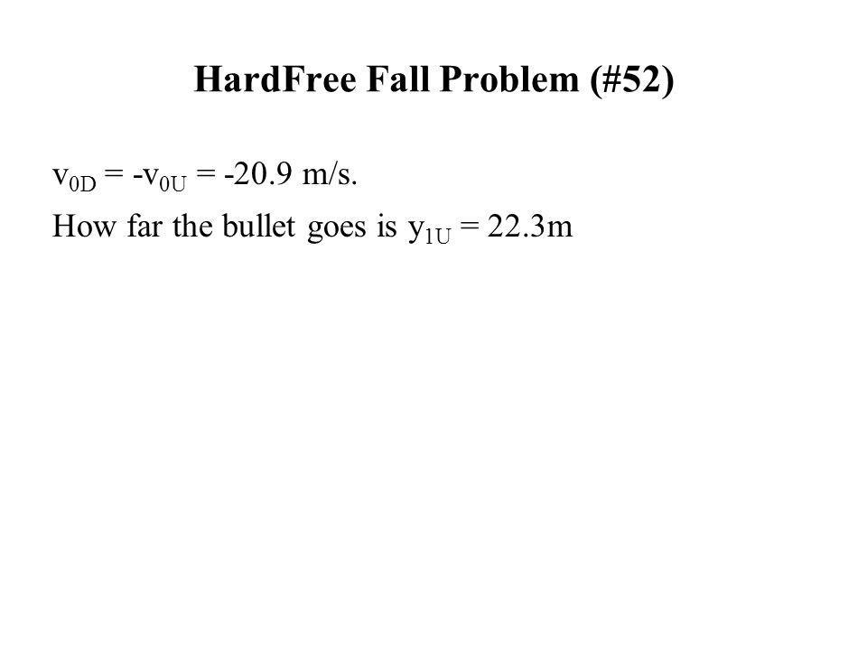 HardFree Fall Problem (#52)