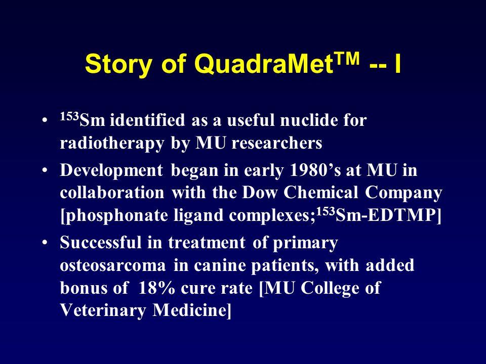 Story of QuadraMetTM -- I