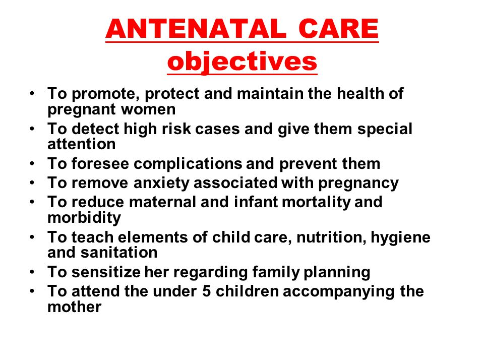 What is taught in Antenatal Exercise Classes?