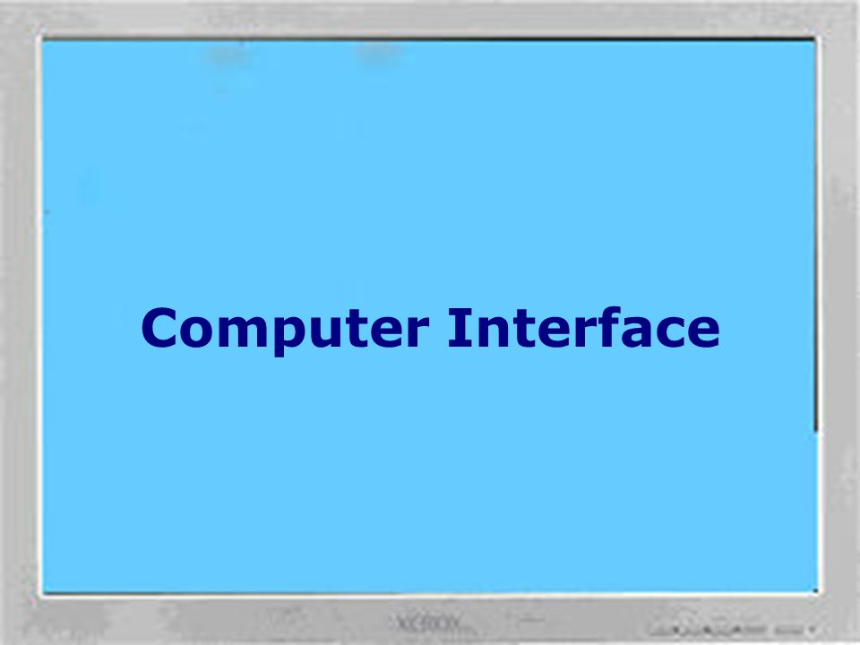 Computer Interface