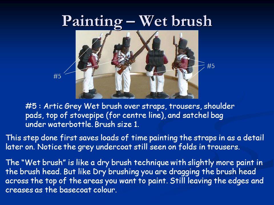 Painting – Wet brush #5. #5.