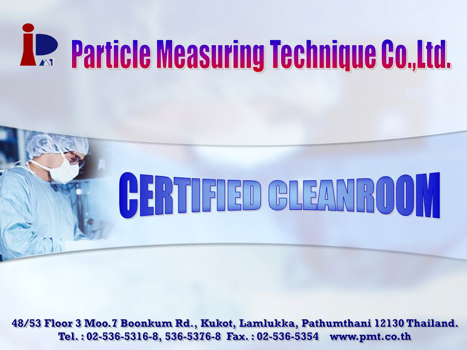 Particle Measuring Technique Co.,Ltd.