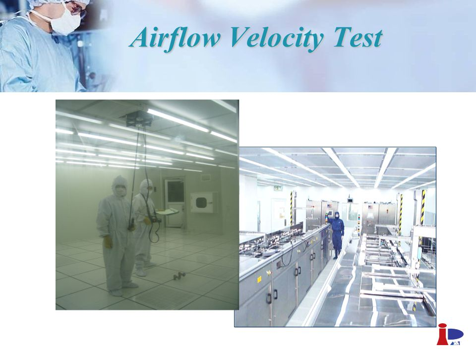 Airflow Velocity Test