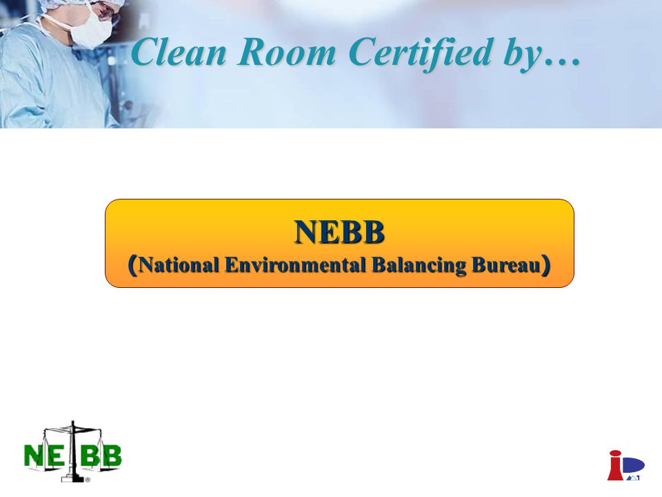 Clean Room Certified by…