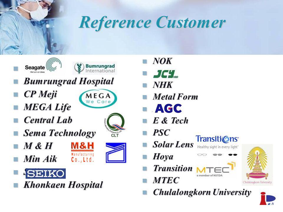 Reference Customer Seagate Bumrungrad Hospital CP Meji MEGA Life