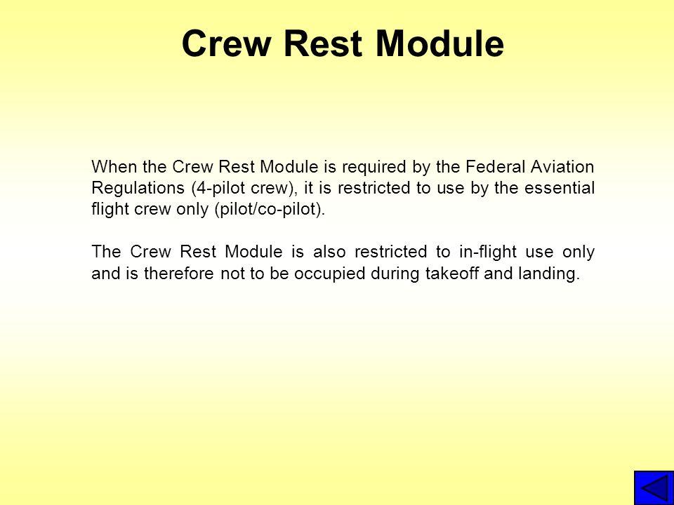 Crew Rest Module