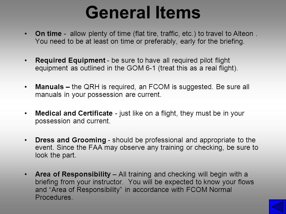General Items