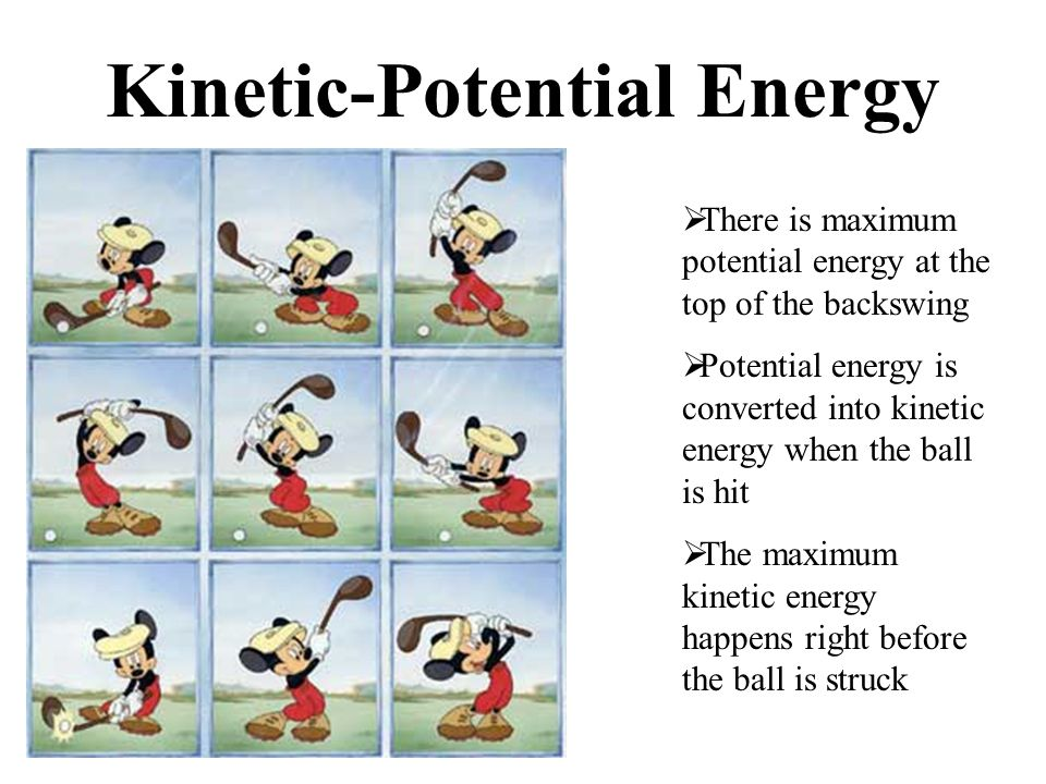 Kinetic-Potential Energy