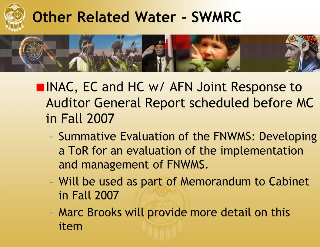 Other Related Water - SWMRC