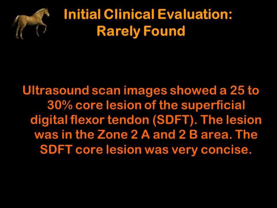 Initial Clinical Evaluation: Rarely Found