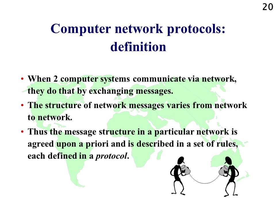 Computer network protocols: definition
