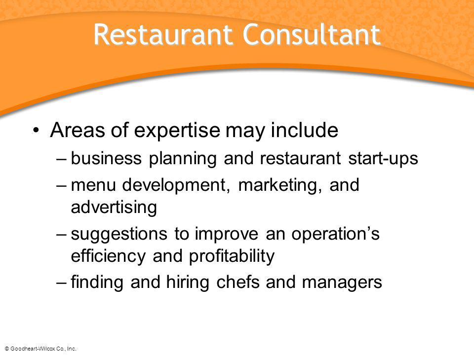 Restaurant Consultant