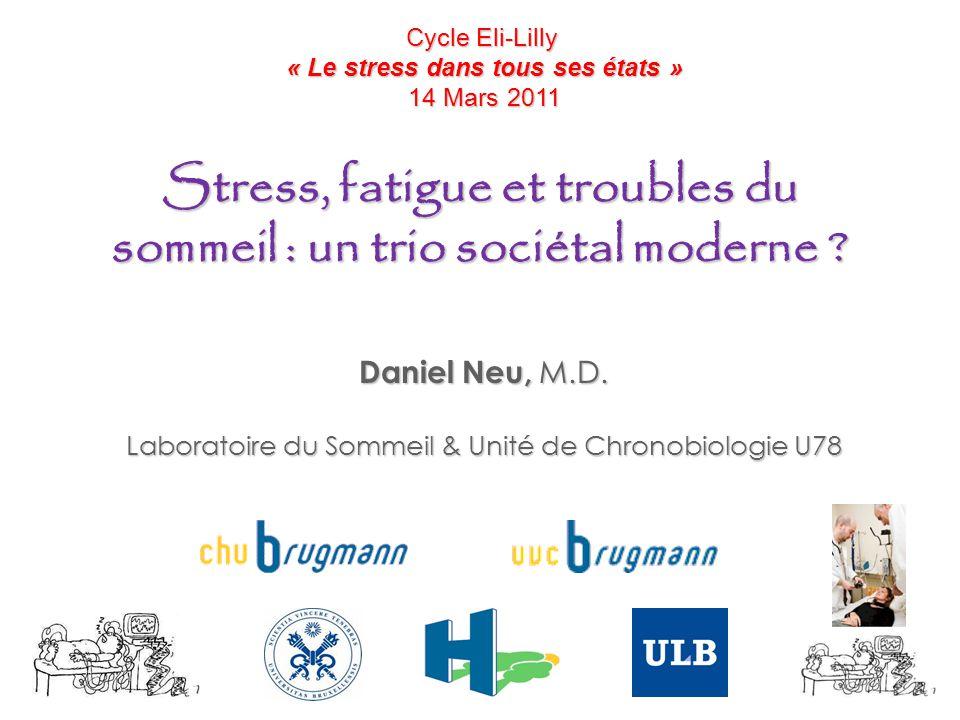 Stress, fatigue et troubles du sommeil : un trio sociétal moderne
