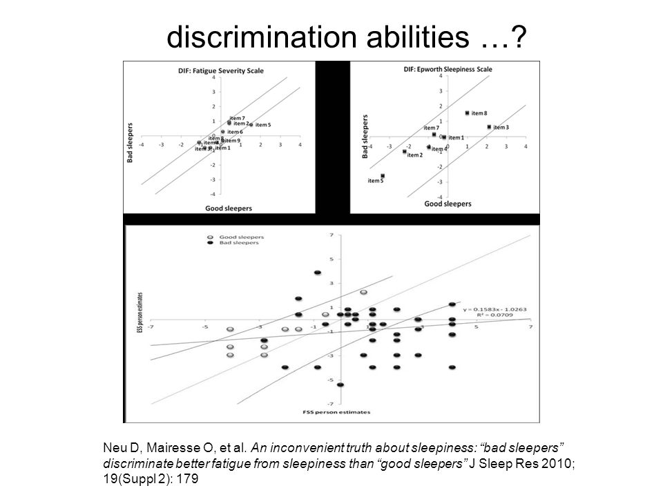 discrimination abilities …