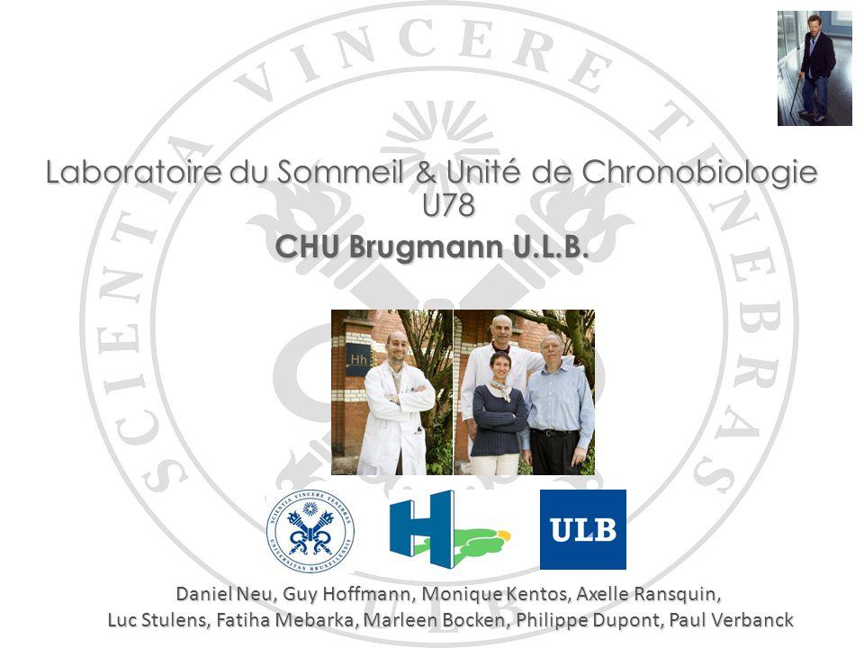 Laboratoire du Sommeil & Unité de Chronobiologie U78