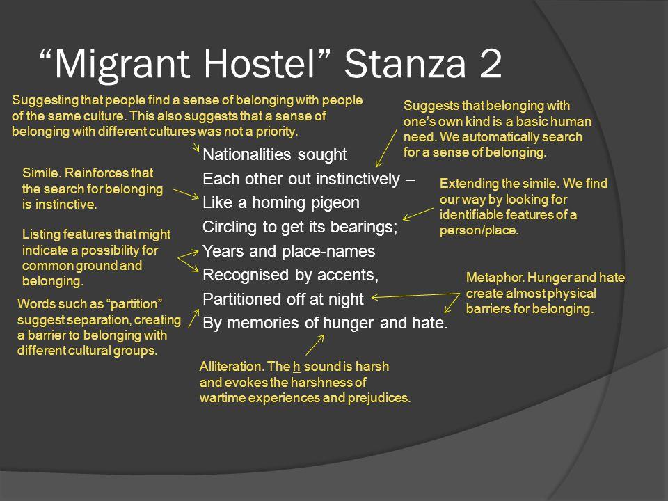 Migrant Hostel Stanza 2