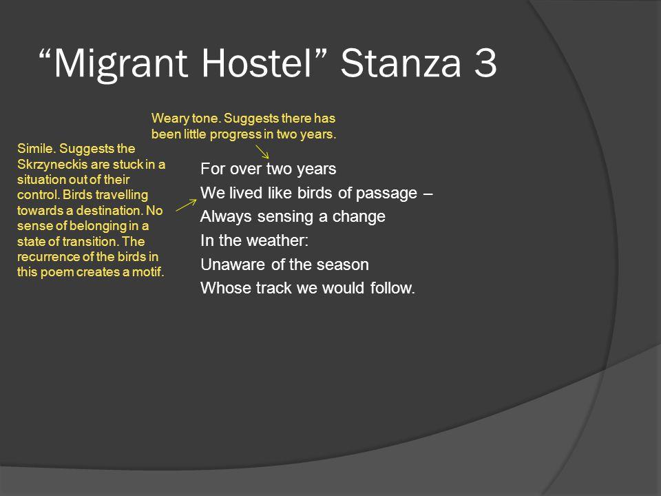 Migrant Hostel Stanza 3