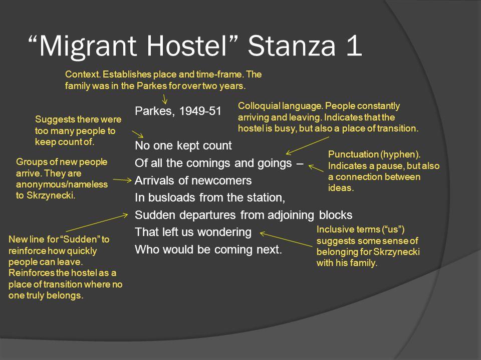 Migrant Hostel Stanza 1