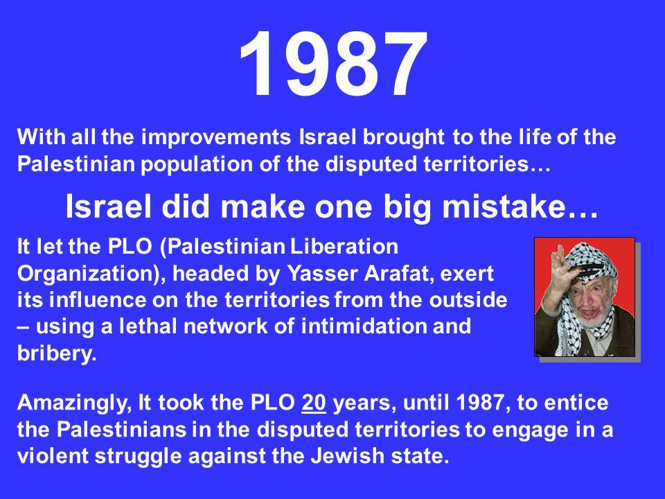 Israel did make one big mistake…
