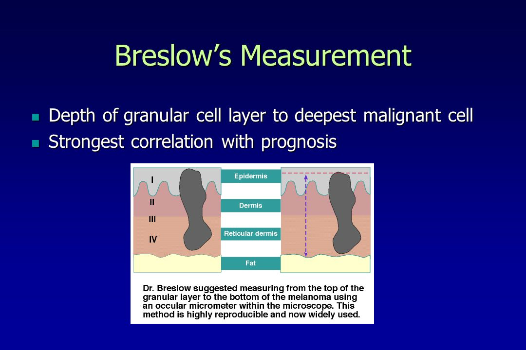 Breslow's Measurement