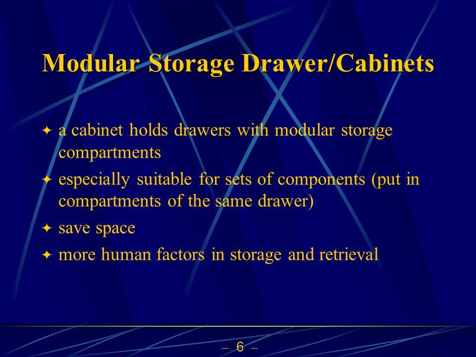 Modular Storage Drawer/Cabinets