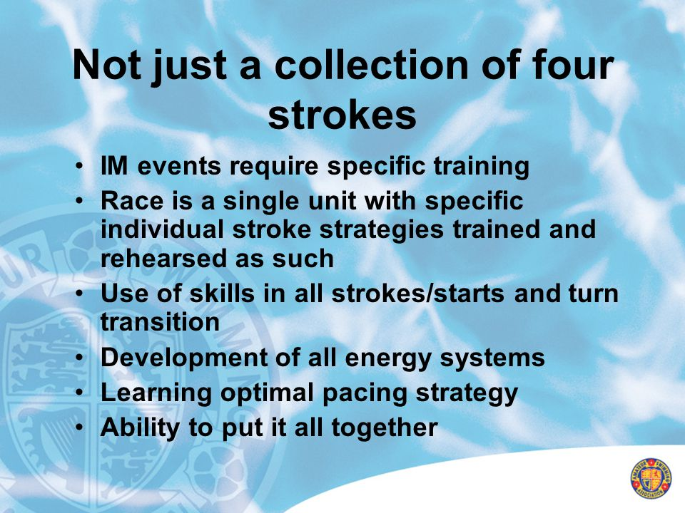 Not just a collection of four strokes