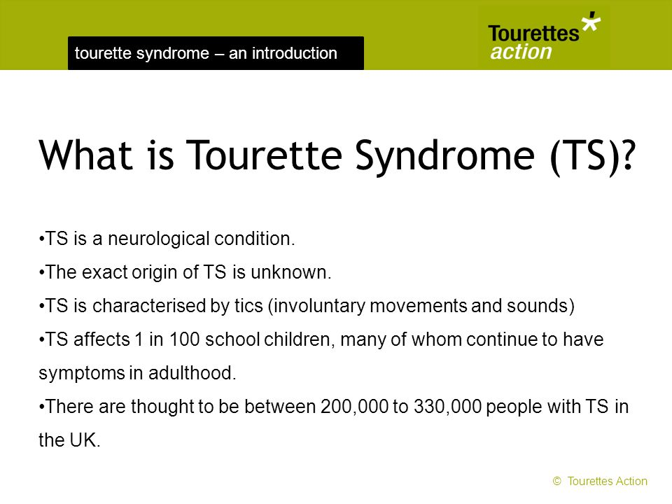 What is Tourette Syndrome (TS)
