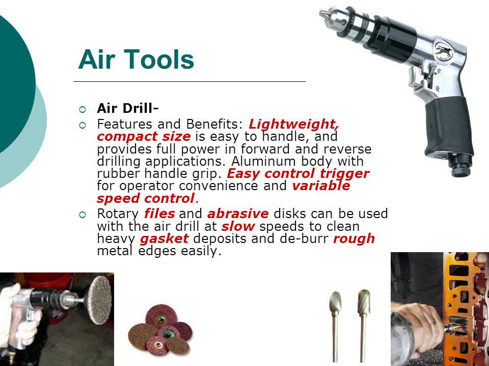 Air Tools Air Drill-