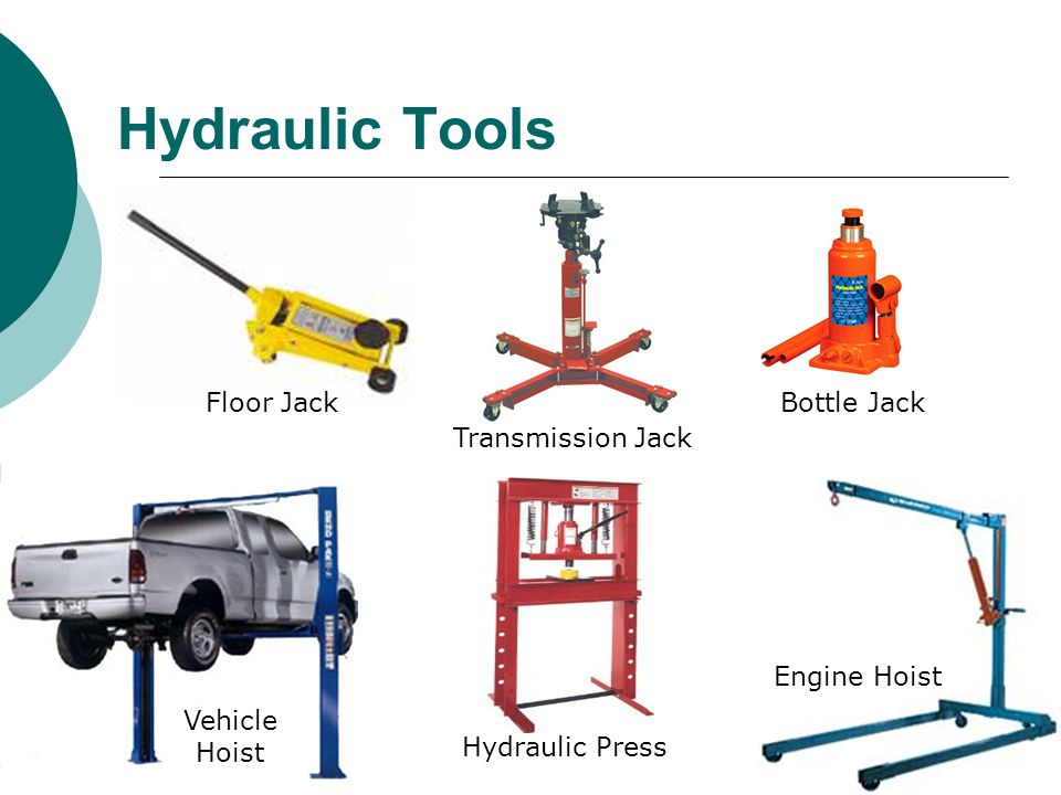 Hydraulic Tools Floor Jack Bottle Jack Transmission Jack Engine Hoist