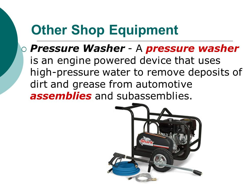 Other Shop Equipment
