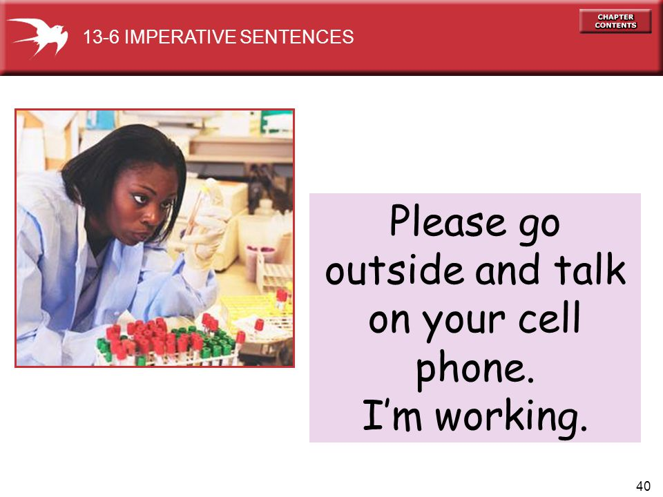 Please go outside and talk on your cell phone.