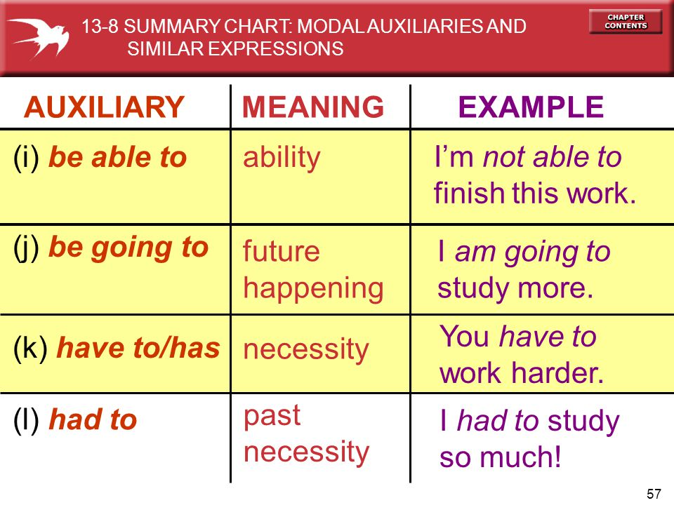 AUXILIARY MEANING EXAMPLE