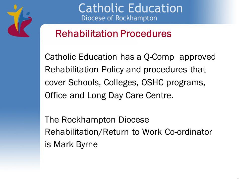 Rehabilitation Procedures