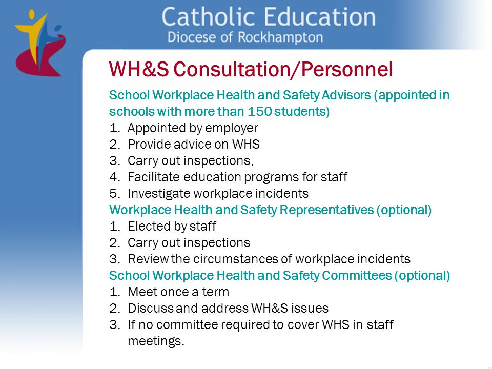 WH&S Consultation/Personnel