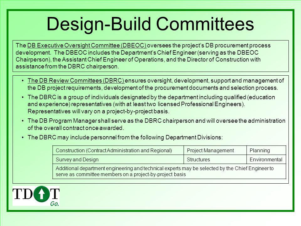 Design-Build Committees