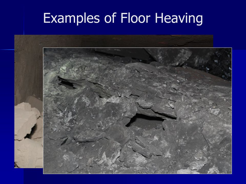 Examples of Floor Heaving
