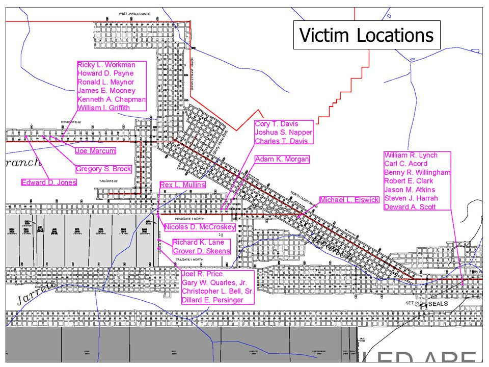 Victim Locations
