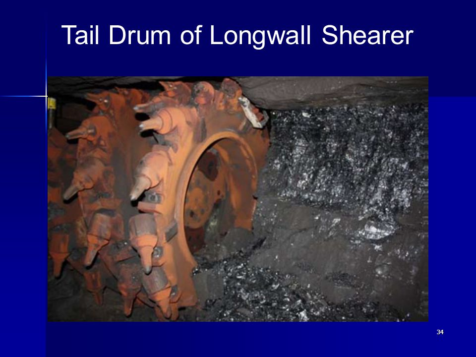 Tail Drum of Longwall Shearer