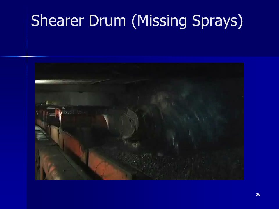 Shearer Drum (Missing Sprays)