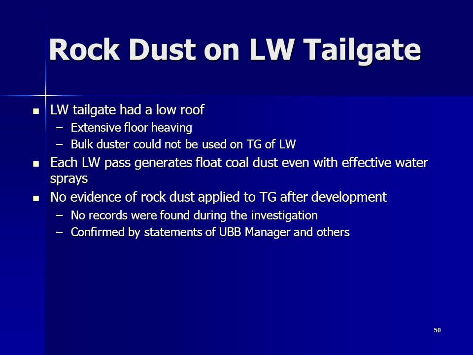 Rock Dust on LW Tailgate
