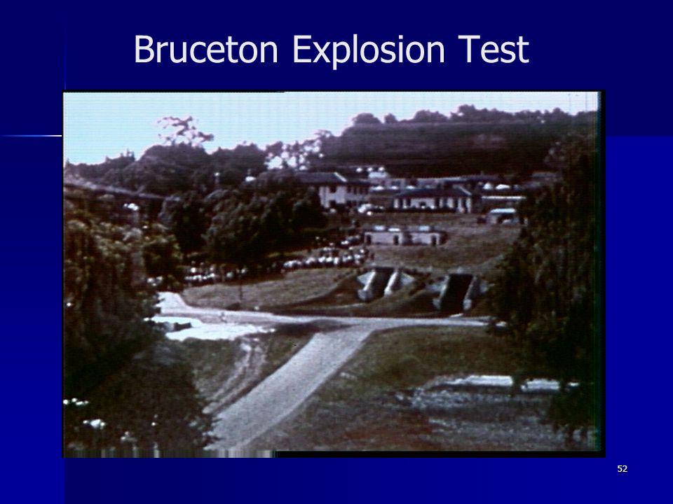 Bruceton Explosion Test