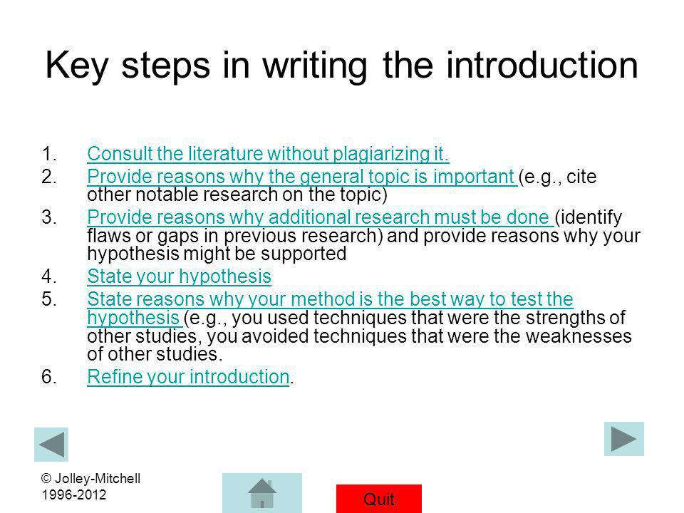 how to do an essay step by step