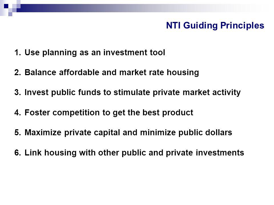 NTI Guiding Principles