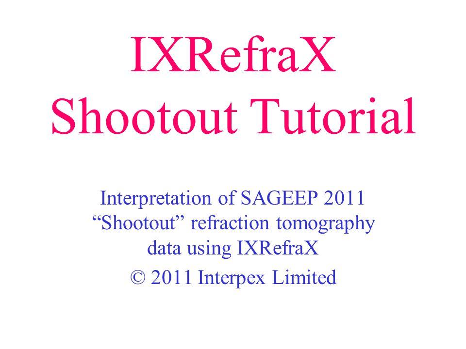 IXRefraX Shootout Tutorial