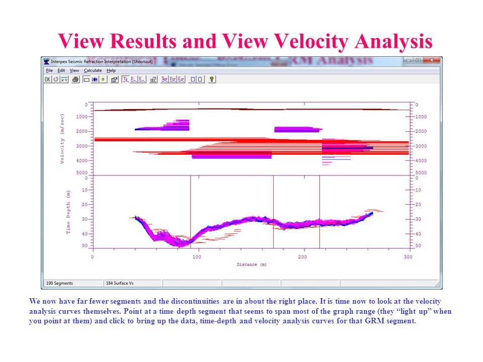 View Results and View Velocity Analysis