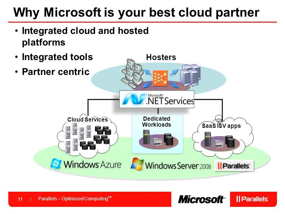 Why Microsoft is your best cloud partner