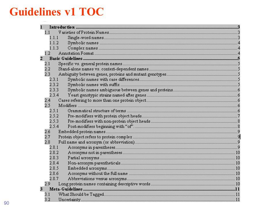 Guidelines v1 TOC