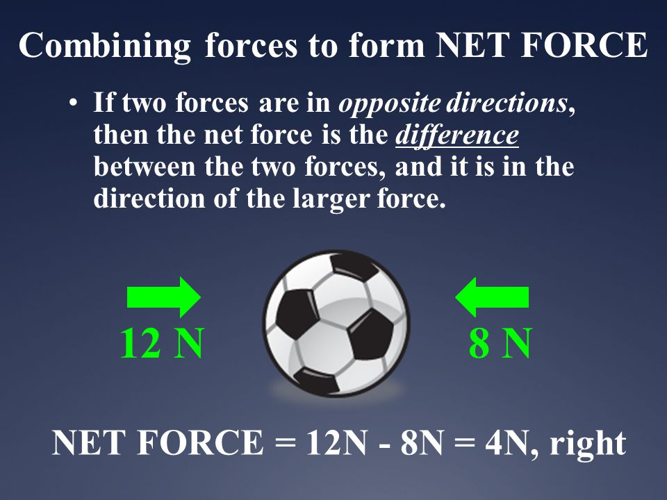 Combining forces to form NET FORCE