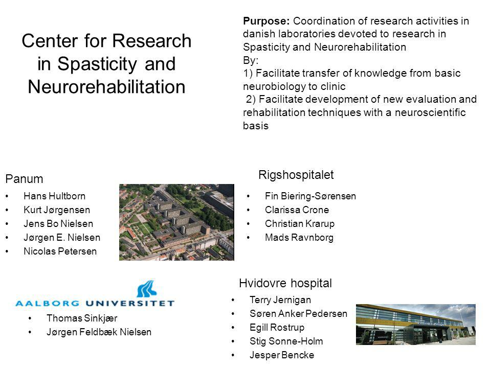 Center for Research in Spasticity and Neurorehabilitation